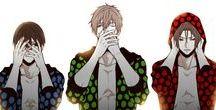 Free! / Makoto is so cuteee and hooot.♥♥  Rin is so haaaandsoooooooome. ♥♥ I RLLY SHIP THEEEM! (but I ship Makoto x Sousuke too)