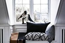 DECOR - COMMON AREAS / Modern decor for common areas of the home - den, living room, foyer, hallways