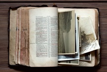 PAGES / Clever ways to use old books that are missing pages or are partially destroyed. Invites, Decor and design.
