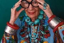 Iris Apfel- Rare Bird of Fashion / I hope I have 1/2 the fashion sense that she does!