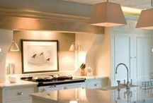 DECOR - KITCHENS / Modern kitchens including industrial, farmhouse chic, eclectic and unique cooking spaces