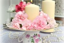 Mother's Day tea table / by Janet Goulet