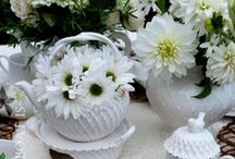 romantic whites / by Janet Goulet