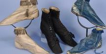 History - Shoes / Gorgeous shoes, women's and men's, through history.