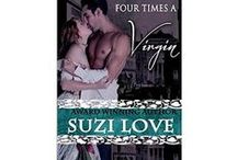 Books - Four Times A Virgin / Book 2 in the Irresistible Aristocrats Series by Suzi Love and is a Regency Noir historical romance, showing the darker side of the Ton in Regency London.  / by Suzi Love