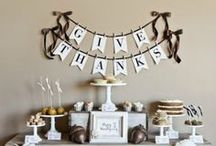 A Thanksgiving Feast for the Eyes  / Thanksgiving Decor Inspiration