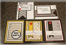 6x6 paper stack cards / by Kathie Maltby