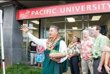 Boxer Ohana / Though our campuses are in Oregon, Pacific University values its strong connections to our Boxer 'Ohana in Hawai'i. At our administrative office in Honolulu, we strive to bring a little piece of Pacific to Hawai'i. / by Pacific University