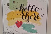 Hello There Stampin Up / Handmade Greeting Card / by Elizabeth Schwerm