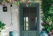 DECOR - EXTERIORS / Home exteriors - roofs, doors, paint colors, porches, windows