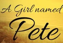 A Girl named Pete / A story about a young girl growing up on the Red River in Oklahoma during the Great Depression and Dust Bowl era in the 1930's. She has many adventures with her four sisters and two brothers until tragedy strikes the Washburn family, and they are never the same. This is a story of love, forgiveness, and family. This board is about my story that I have written and will be published at the end of summer 2014 for youth readers... but a great story for any age!!! Historical Fiction / by Lori Karpe