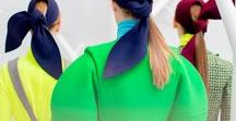 fashion + color / amazing color in fashion + current color trends