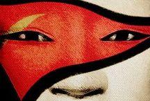 Samurais & Geishas CDC / Character Design Challenge, July 2016