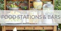 Food stations & bars