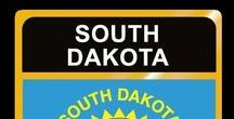 USA: South Dakota - State / South Dakota = Hauptstadt / Capital - Pierre ~~~ South Dakota - Vereinigte Staaten von Amerika / United States of America / USA