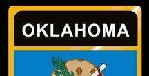USA: Oklahoma - State / Oklahoma = Hauptstadt / Capital - Oklahoma City ~~~ Oklahoma - Vereinigte Staaten von Amerika / United States of America / USA