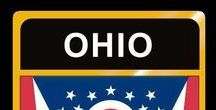 USA: Ohio - State / Ohio = Hauptstadt / Capital - Columbus ~~~ Ohio - Vereinigte Staaten von Amerika / United States of America / USA