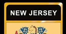 USA: New Jersey - State / New Jersey = Hauptstadt / Capital - Trenton ~~~ New Jersey - Vereinigte Staaten von Amerika / United States of America / USA
