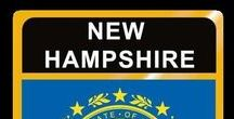 USA: New Hampshire - State / New Hampshire = Hauptstadt / Capital - Concord ~~~ New Hampshire - Vereinigte Staaten von Amerika / United States of America / USA