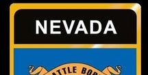 USA: Nevada - State / Nevada = Hauptstadt / Capital - Carson City ~~~ Nevada - Vereinigte Staaten von Amerika / United States of America / USA