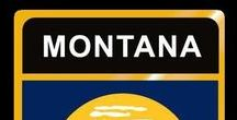 USA: Montana - State / Montana = Hauptstadt / Capital - Helena ~~~ Montana - Vereinigte Staaten von Amerika / United States of America / USA