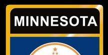 USA: Minnesota - State / Minnesota = Hauptstadt / Capital - Saint Paul ~~~ Minnesota - Vereinigte Staaten von Amerika / United States of America / USA
