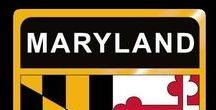 USA: Maryland - State / Maryland = Hauptstadt / Capital - Annapolis ~~~ Maryland - Vereinigte Staaten von Amerika / United States of America / USA