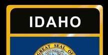 USA: Idaho - State / Idaho = Hauptstadt / Capital - Boise ~~~ Idaho - Vereinigte Staaten von Amerika / United States of America / USA