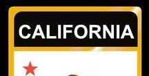 USA: California / Kalifornien - State / Kalifornien / California = Hauptstadt / Capital - Sacramento ~~~ Kalifornien / California - Vereinigte Staaten von Amerika / United States of America / USA
