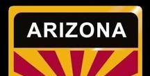 USA: Arizona - State / Arizona = Hauptstadt / Capital - Phoenix ~~~ Arizona - Vereinigte Staaten von Amerika / United States of America / USA