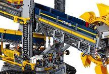 Lego technic escabadora de cangilones
