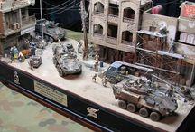 Dioramas de guerra