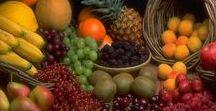 Pflanzen: Obst - Nüsse (Gemischt / Mixed) / Obst - Früchte / Fruit ~~~Zitrusfrüchte - Zitruspflanzen / Citrus ~~~ + Nüsse / Nuts