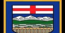 Kanada: Alberta / Kanada / Canada - Provinz / Province ~~~ Alberta = Hauptstadt / Capital - Edmonton