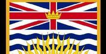 Kanada: British Columbia / Kanada / Canada - Provinz / Province ~~~ British Columbia = Hauptstadt / Capital - Victoria