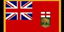 Kanada: Manitoba / Kanada / Canada - Provinz / Province ~~~ Manitoba = Hauptstadt / Capital - Winnipeg