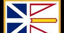 Kanada: Neufundland & Labrador / Kanada / Canada - Provinz / Province ~~~ Neufundland und Labrador / Newfoundland and Labrador = Hauptstadt / Capital - St. John's