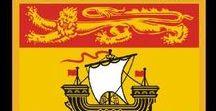 Kanada: New Brunswick / Kanada / Canada - Provinz / Province ~~~ New Brunswick = Hauptstadt / Capital - Fredericton