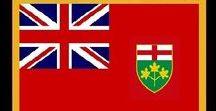 Kanada: Ontario / Kanada / Canada - Provinz / Province ~~~ Ontario = Hauptstadt / Capital - Toronto