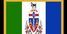 Kanada: Yukon / Kanada / Canada - Territorium / Territory ~~~ Yukon = Hauptstadt / Capital - Whitehorse