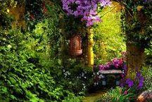 Magical Gardens / Magical fairytale gardens