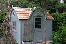 She Shed Ideas / Ideas for creating the perfect 'She Shed' - our own outdoor escape