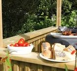 Al Fresco Dining / Garden furniture and features that will get your garden ready for summer entertaining and barbecuing!