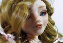 OOAK Polymer Clay doll - Fragile / Fragile..