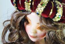OOAK Art Polymer Clay doll - Venice / Venice