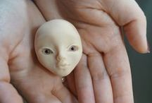 OOAK Art Polymer Clay doll - Home made / Home made