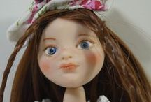 OOAK Art Polymer Clay doll - Little Anthia / Little Anthia
