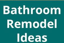 Bathroom Design / Bathroom build & remodel design, decoration ideas, and bathroom-related DIY instruction are the focus of this board.