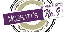Mushatt's No 9 / Mushatt's No 9 products provide a rande of ethical, effective, and trustworthy OTC topical solutions for the relief of Skin Problems: Psoriasis, Itch, Redness, Rash, Flaking, Scaling, Eczema and Seborrheic Dermatitis.