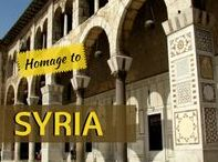 Homage to Syria GLIMPSES / Travel stories by Glimpses of The World about the astonishing country of Syria I've visited in 2008. Posting this homage, hoping for piece to be restored! This is the country so rich in history and culture you'd be amazed!